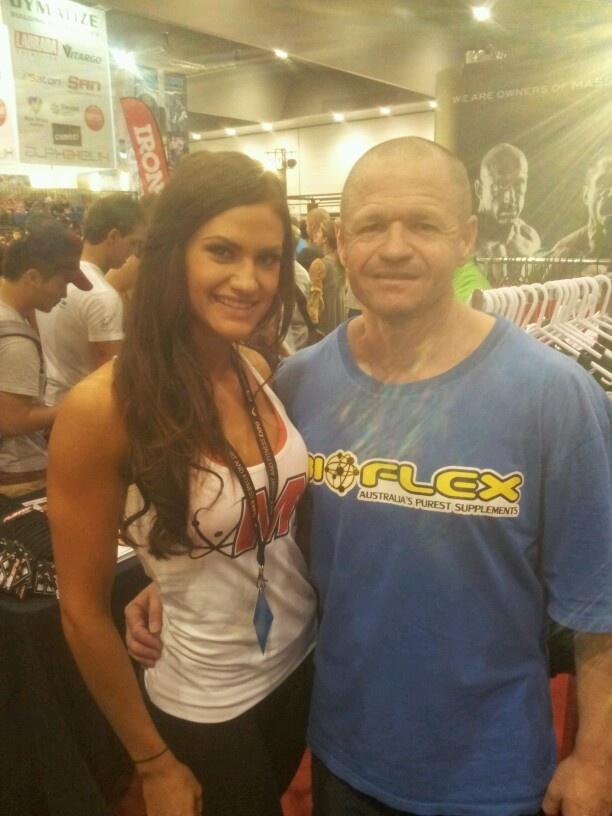 IFBB Bikini Pro Rhiannon Harris!