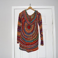 The Laughing Willow: My version of the pinwheel sweater