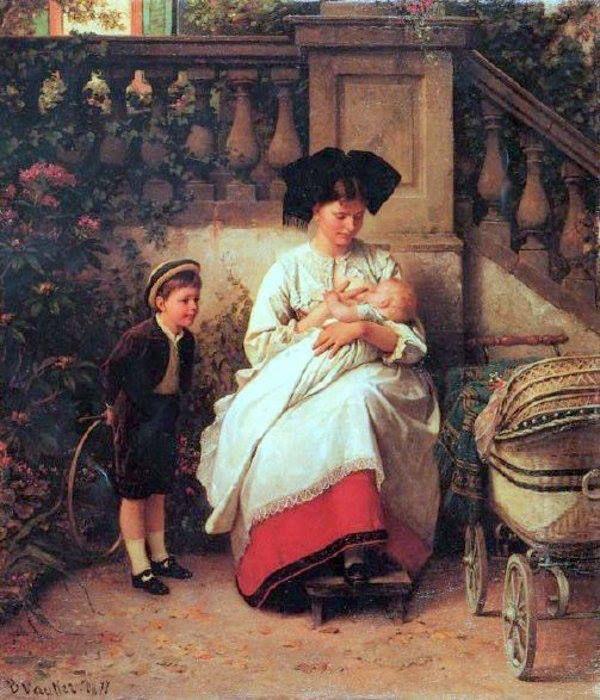 Benjamin Vautier - The Nurse