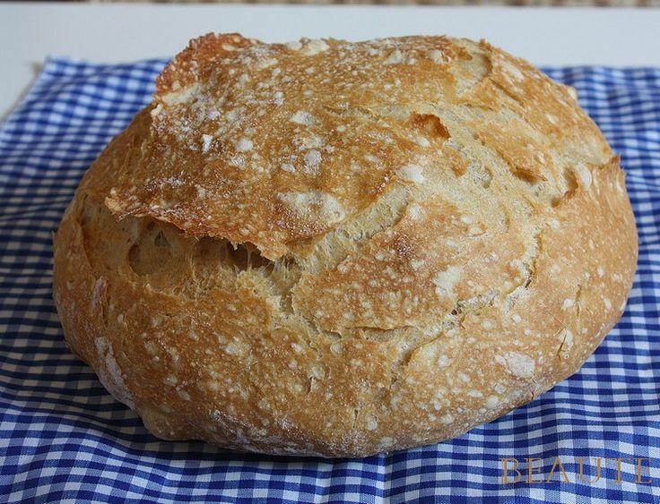 Chleba bez hnětení podruhé