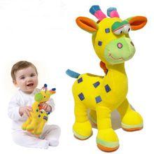 Nova Chegada bonecas e Girafas brinquedo do bebê brinquedo do bebê bonecas de Pano WJ198(China (Mainland))