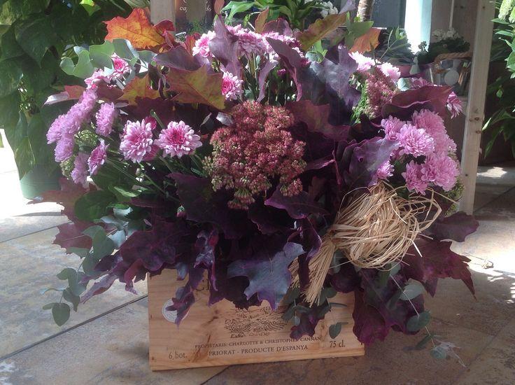 Autumn centerpieces, centros de flores, flor de otoño, flores para eventos, floristería, valencia
