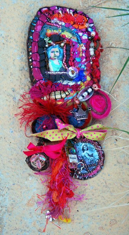 Lilibulle embellishment patch