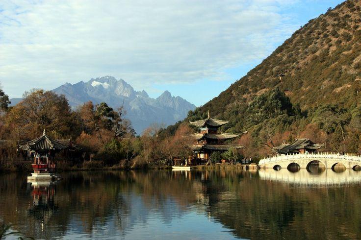 Black Dragon Pool, Lijiang, Yunnan: Favorit Place, Place I D, Jade Dragon, Yunnan Provinc, Black Dragon, Magic Place, Dragon Pools, Dragon Snow, Lijiang Yunnan