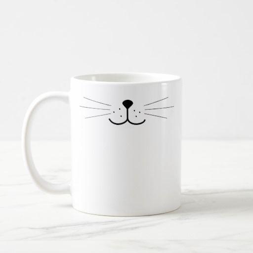 Cute Cat Face Mug on zazzle: http://www.zazzle.com/z/3b8j2