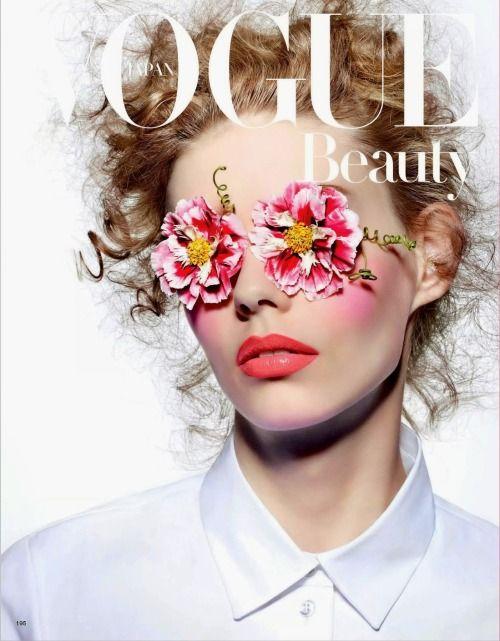 M: Ondria Hardin, P: Richard Burbridge (Vogue Japan March 2015)