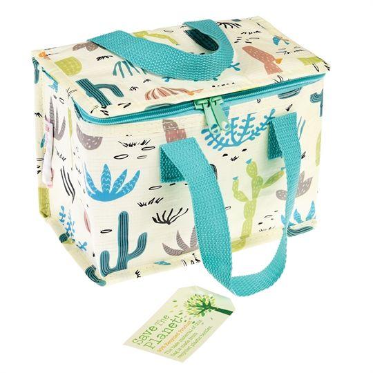 Τσάντα για κολατσιό με εσωτερική ειδική επικάλυψη  για διατήρηση θερμοκρασίας.  Είναι κατασκευασμένο από ανακυκλώσιμα υλικά.