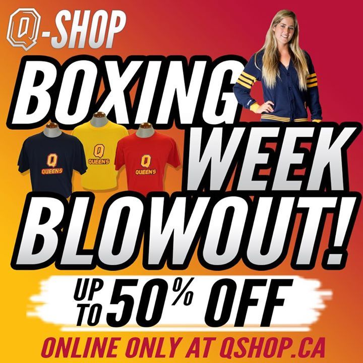 oh look there is one gift left for you... Shop our special Boxing Week Blowout collection online to save up to 50% on select items. Shop now at qshop.ca #queensu #ChaGheill - http://ift.tt/1HQJd81