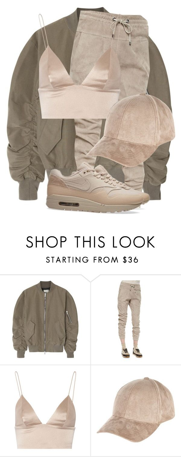 """""""Untitled #3143"""" by xirix ❤ liked on Polyvore featuring Fear of God, Brunello Cucinelli, T By Alexander Wang, River Island and NIKE"""
