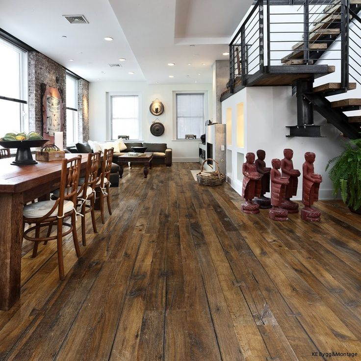 Brunbetsat Furugolv I K 246 Ket Kitchen Floor Pinterest