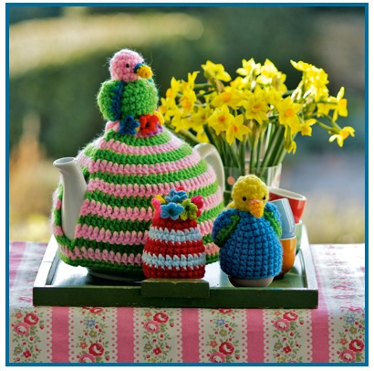 Cath Kidston tea cosy and egg cups