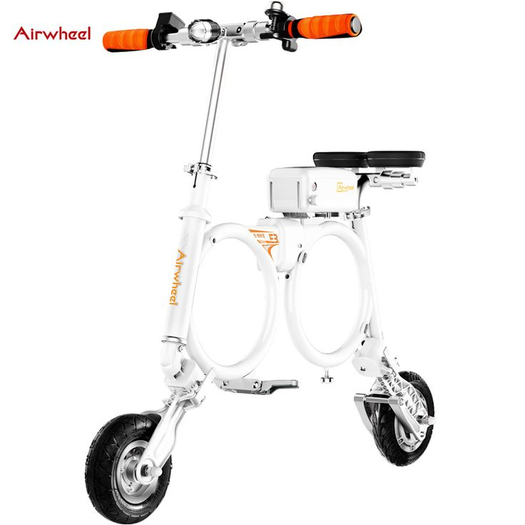 Original Airwheel E3 Light Weight Foldable Smart Electric Scooter with Seat Portable Mobility folding lithium battery e-scooter