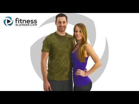Day 1: Fitness Blender's 5 Day Workout Challenge to Burn Fat & Build Lean Muscle - YouTube