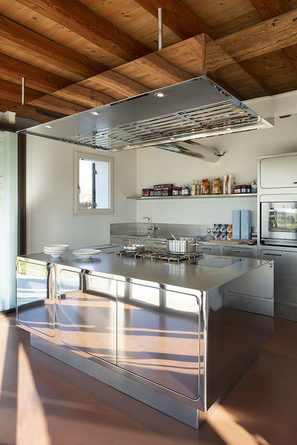 Cucina In Acciaio Inox Stile Cucina Decorazione Cucina Cucina Di Lusso