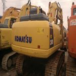 Komatsu excavator PW100 in second hand can be found in various sizes and specifications. It is a kind of goo...