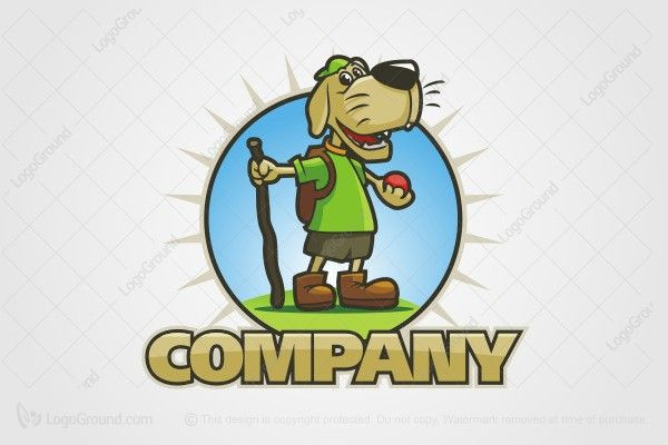 Logo for sale: Dog Camp Logo