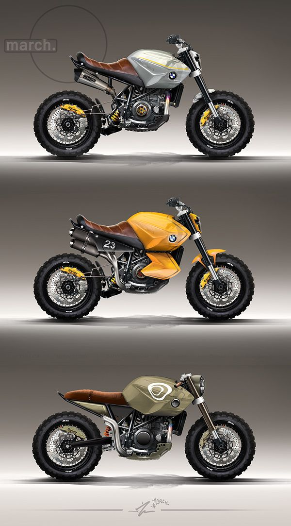 march.Series of highly detailed motorbike concepts.These models based on KTM Lc4 frame/engine.Bmw r-series parts, Bmw Scrambler parts, Öhlins, Brembo etc... + Many custom parts. All ready made parts are fitted in correct size (allmost all),so these…