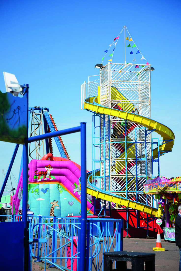 Plenty of fun to be had at Ocean Beach Pleasure Park.