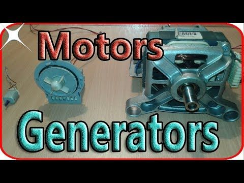 how to make a generator using a motor