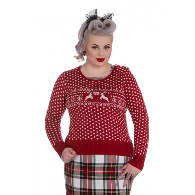 Red-Holiday-Jumper