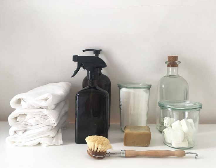 zero waste cleaning supplies