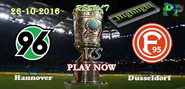 Hannover 6 - 1 Dusseldorf 26.10.2016 HIGHLIGHTS - PPsoccer