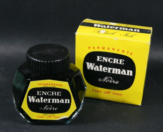 encre Waterman noire