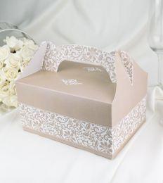 Svatební krabička na výslužku K1043