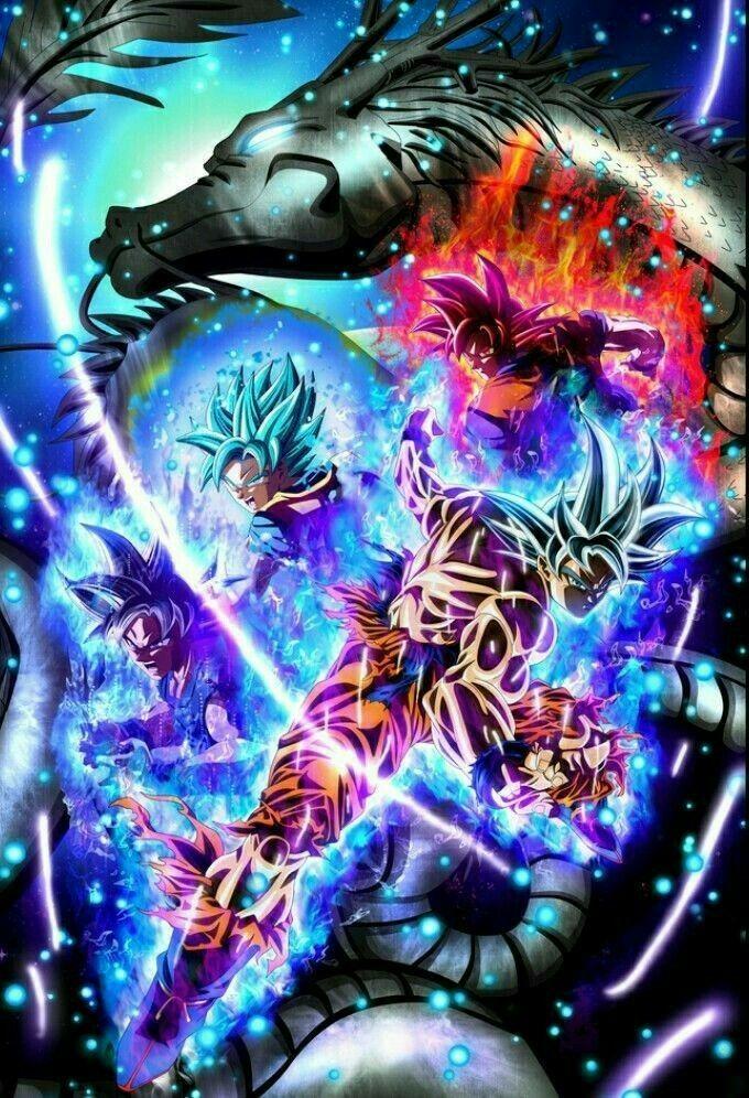 Epic Dragon Ball Z Cool Wallpaper