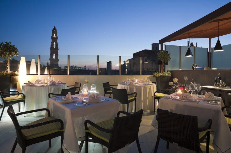 "Enjoy the excellence of local flavours at the al fresco ""Le Quattro Spezierie Roof Garden""."