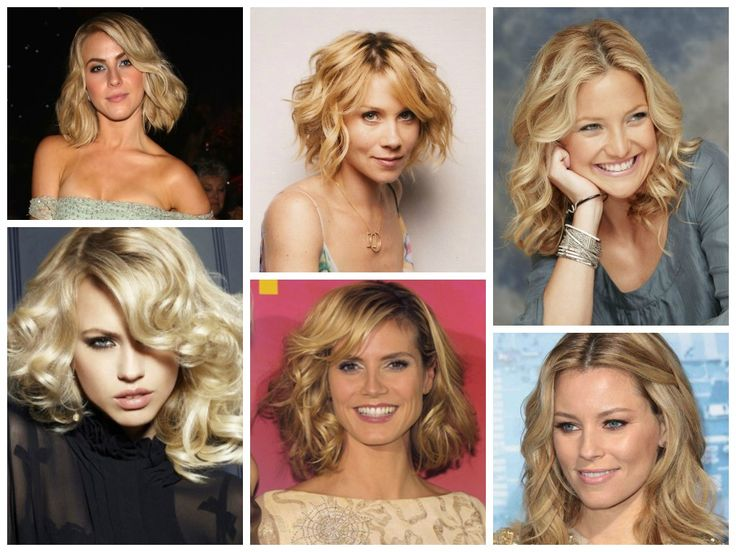 Rather than worrying about a cut or color – you can simply change the texture of your hair. Wavy (or curly) hairstyles will create width around your face which will help balance a high forehead and they will also draw attention away from your forehead and towards your cheekbones, jaw and of course, your hair.