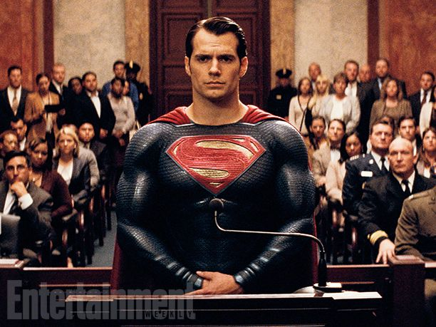 """Now we know that's a Kryptonian family crest, not an actual S, on Superman's chest. But for a moment, imagine it's an R.  Weeks before Batman v Superman: Dawn of Justice hits theaters on March 25, the Motion Picture Association of America announced that the PG-13 film will have an R-rating when its extended """"Ultimate Edition"""" is released this summer on home video."""
