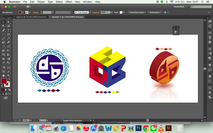 Logo yang ini engga gue kasih banyak catetan lah, gue mah no komen kalo logo ini