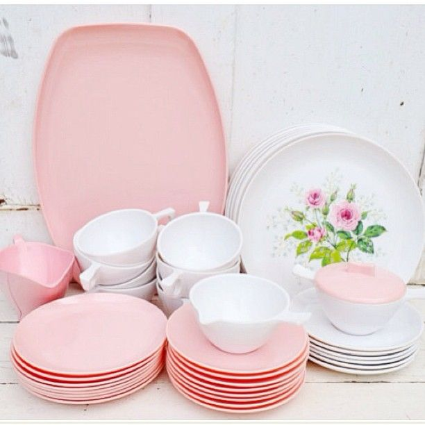420 best Melamine/Melmac Dishes images on Pinterest | Dinnerware ...