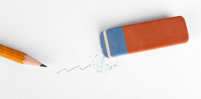 Que la parte azul de la goma borra tinta es casi como una verdad universal para muchos de nosotros. ¿Alguna vez se te ocurrió desmentirlo? A mí no, y eso que jamás me funcionó...Somos muchos los adultos que seguimos repitiendo ciertas afirmaciones desde nuestra infancia con la convicción de que son cier