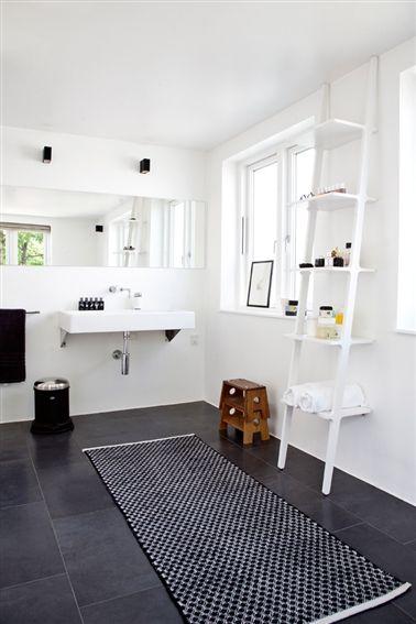 Badeværelse indretning på ny - Indretning med åbent koncept