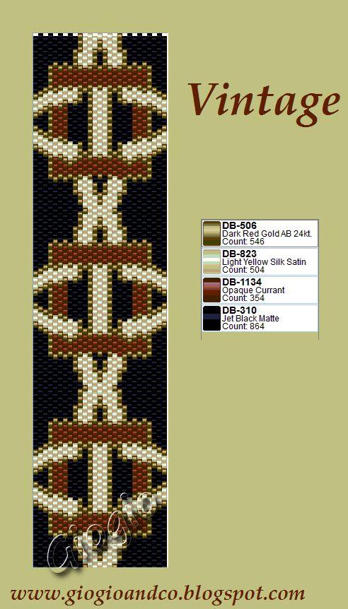 flat peyote pattern