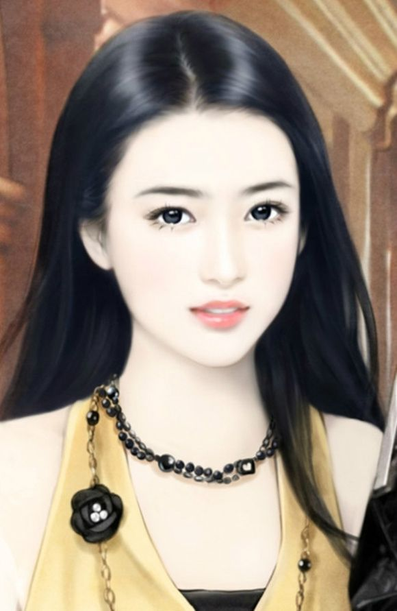 so serious girl   Chinese Painting Girls   Pinterest ...