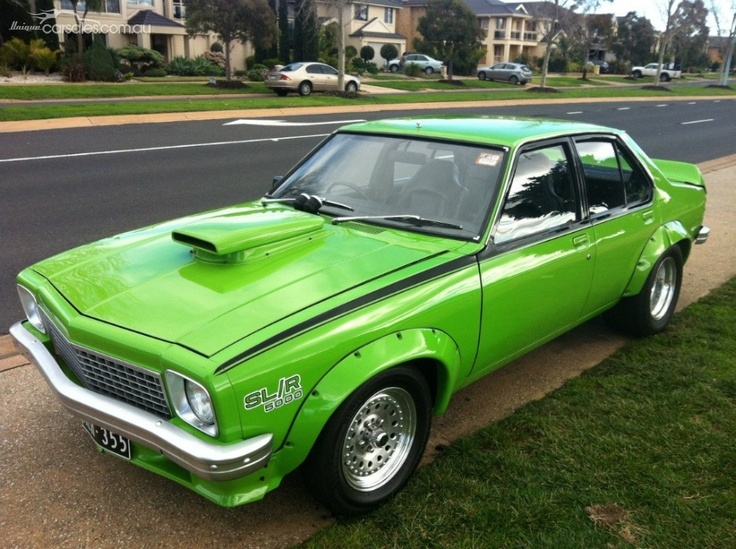 1975 HOLDEN TORANA LH SL/R 308Ci V8 Classic Australian Muscle this was the colour I wanted!