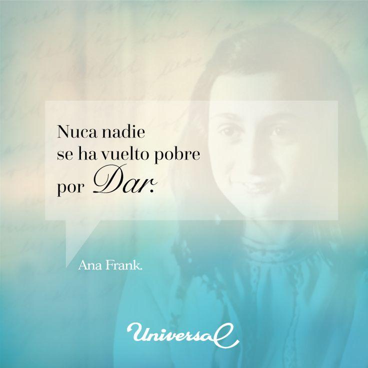 #Frase Ana Frank