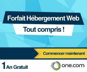 One.com : 1 an d'hébergement Web gratuit + nom de domaine offert | Maxi Bons Plans