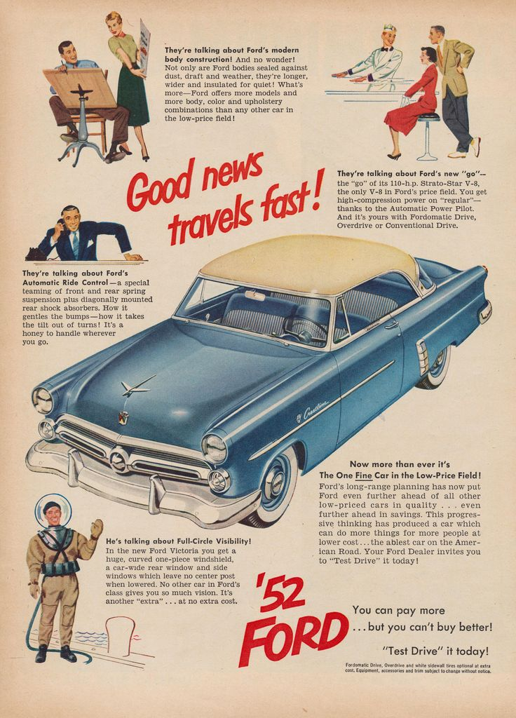 435 best Vintage Car Adds images on Pinterest | Posters, Vintage ...