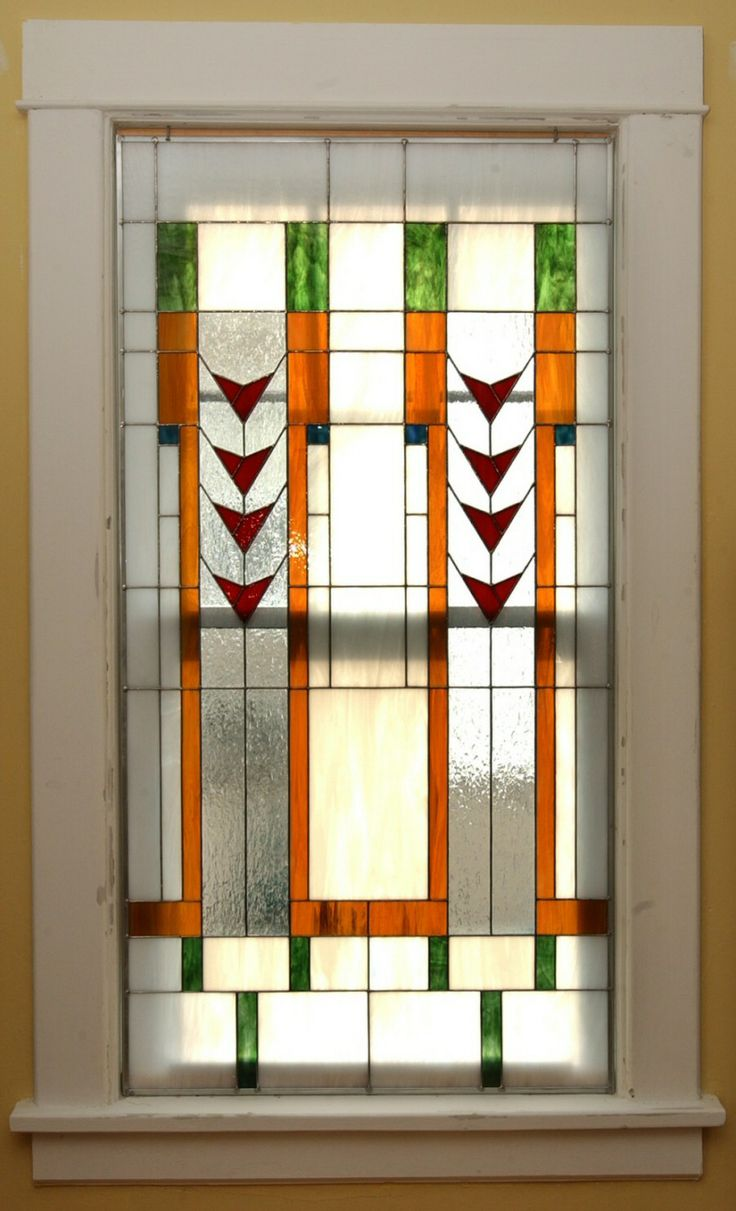 Stained Glass Pocket Doors - Stained glass pine tree cabinet designs design frank glass journal lloyd wright glas design