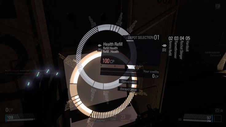 Techy Minimal UI art