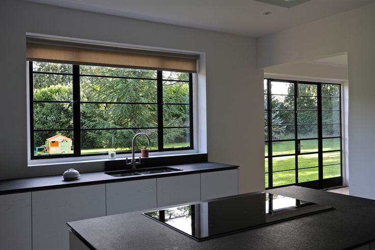 Art Deco Style Using Crittall Steel Frames Installed By