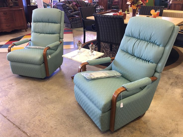 Like new, two cozy teal Lazy Boy chairs- $395 each Stop by and take a seat! #teal #blue #design #decor #furniture #forsale #sale #deal #event #chair #livingroom #homedecor #home #house #apartment #homedesign #basement #bedroom #relax #lazyboy
