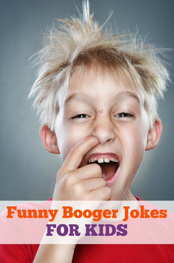 Funny Booger Jokes for Kids - seriously - my kids think these are HILARIOUS!!