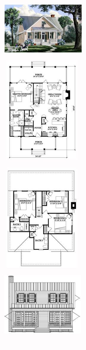 best 25+ coastal house plans ideas on pinterest | lake house plans