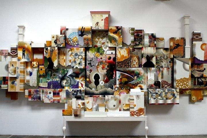 David Choong Lee... installed & impressive