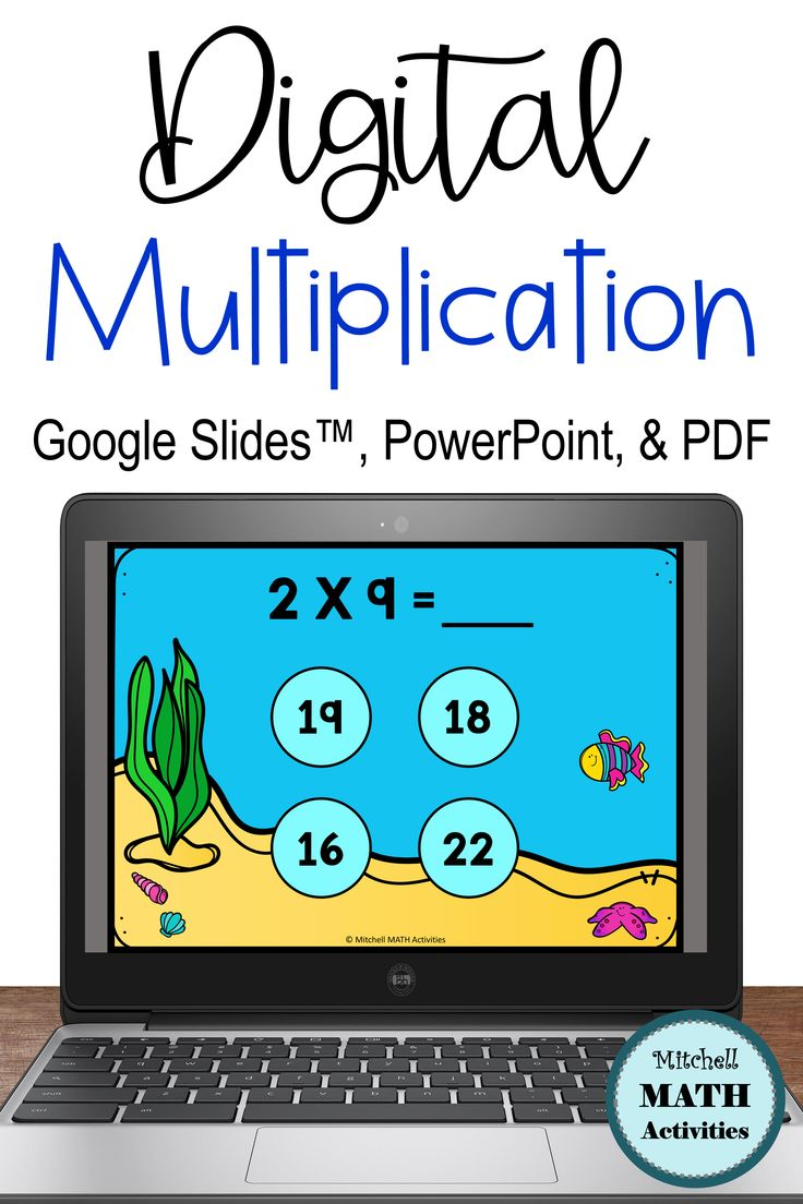 FREE Multiply by 2 Computer Activity in 2020 Fact